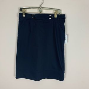 Calvin Klein | Navy Pencil Skirt Size 8 NWT